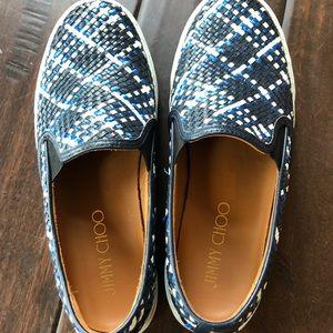 Jimmy Choo Women's Slip on Sneakers